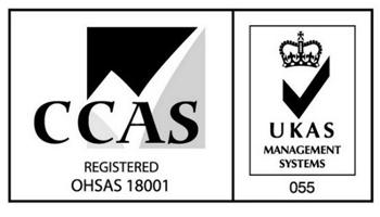 CCAS registered OHSAS 18001