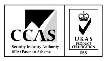 CCAS security industry authority SIA passport scheme
