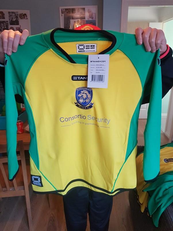 Consortio Security sponsor of Shardlow Football Club