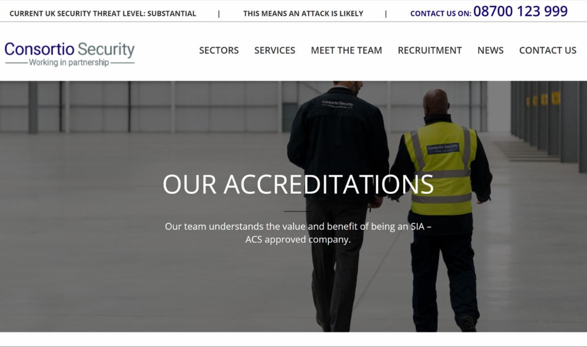 Consortio website
